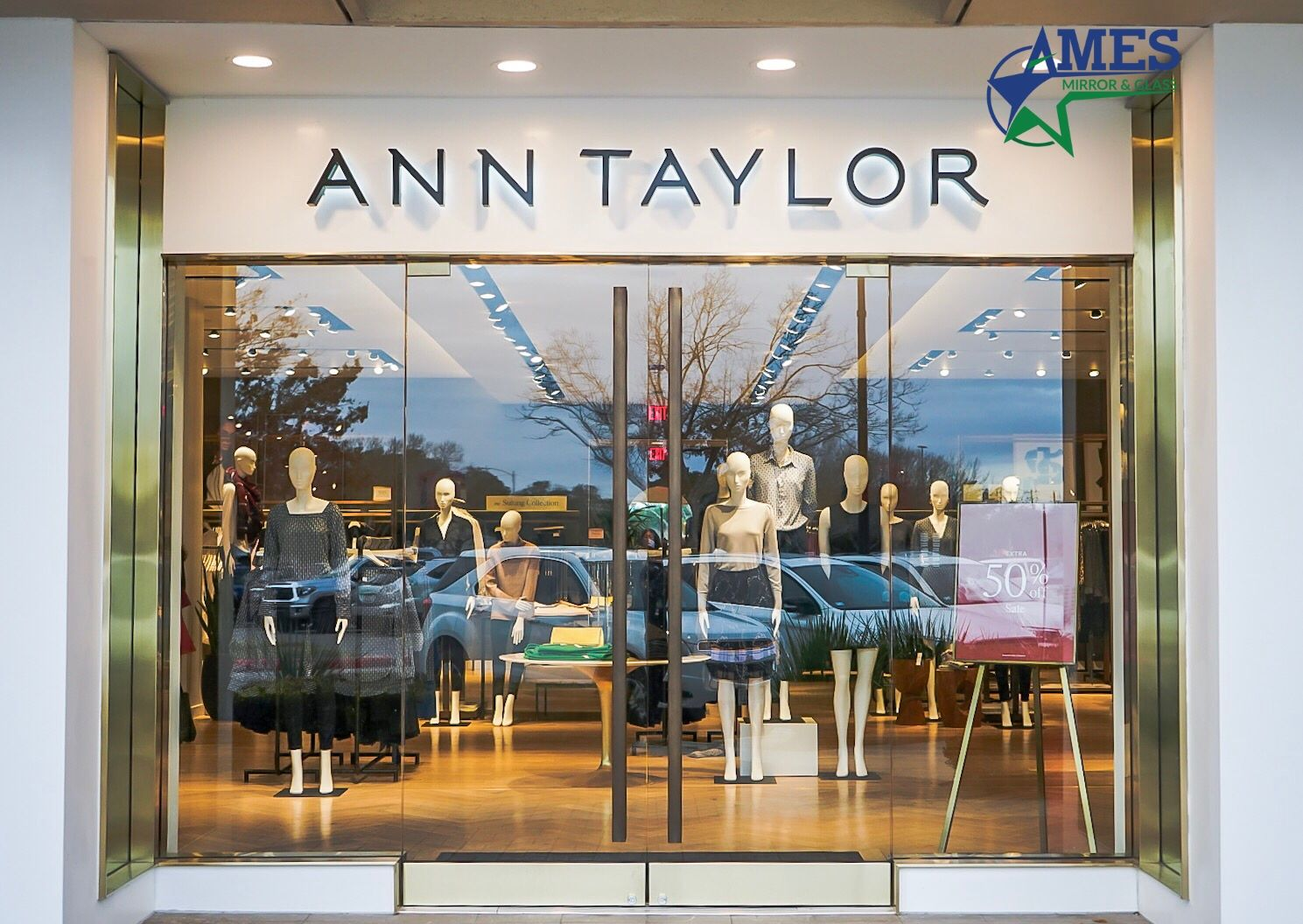 Storefront Glass Installation - Commercial Work