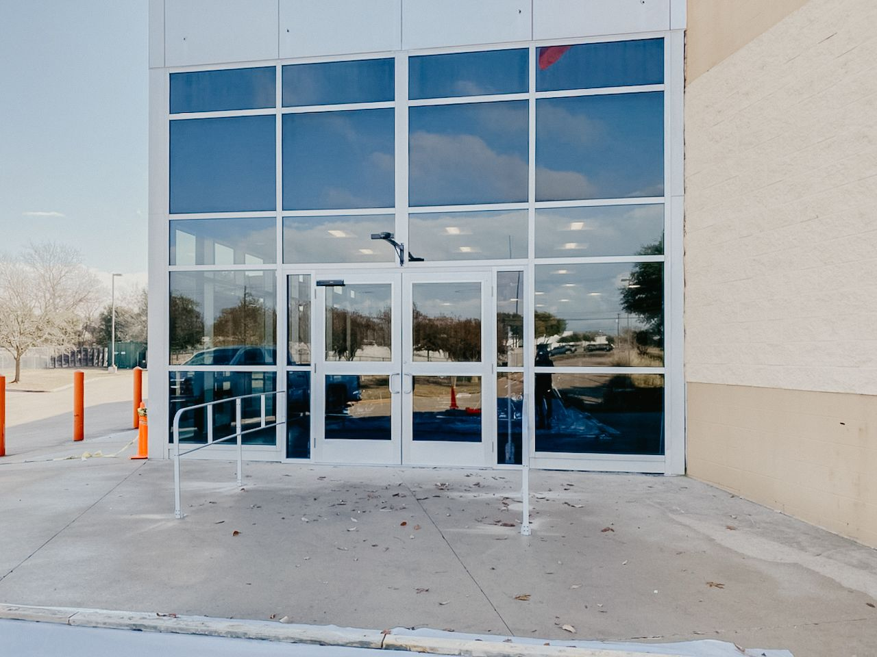Commercial Office Glass Installation